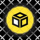 Component Square Retro Icon