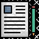 Compose Paper Pen Icon