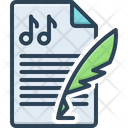 Composition Melody Concept Icon