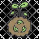 Compost Plant Fertilizers Icon