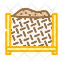 Compost Production Box Composter Icon