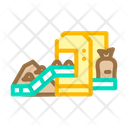 Compost Production Industrial Packaging Icon