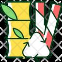 Straw Organic Compost Icon