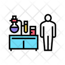 Pharmaceutical Laboratory Worker Icon