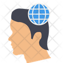 Comprehensive Thinking Global Thinking Global Mind Icon