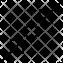 Compress Object Diagonal Icon