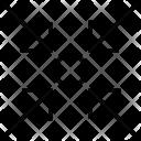 Compress Object Tighten Icon
