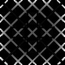 Compress Corners Minimize Icon