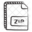 Compress File File Format File Extension Icon