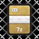 Compressed file 7z Icon