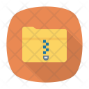 Compressed Folder Zip Icon
