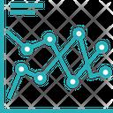 Compression Graph Icon