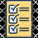 Compulsory Mandatory Obligatory Icon