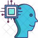 Computational Intelligence Artificial Brain Mind Icon
