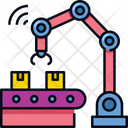Computed Manufacturing Automation Internet Icon