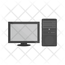 Computer Monitor Display Icon