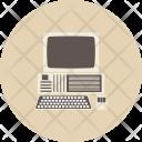 Computer Retro Analog Icon
