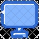 Computer Screen Communication Icon