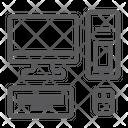Computer Technology Destkop Icon
