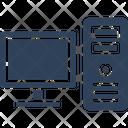 Computer Desktop Home Computer Icon