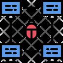 Computer Bug Hacker Icon