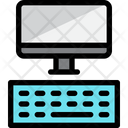 Computer Device Monitor Icon