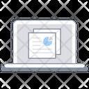 Computer Document Laptop Icon