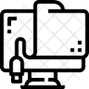Usb Data Share Icon