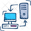 Desktop Monitor Server Icon