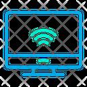 Smart Computer Smart Monitor Automation Icon