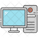 Monitor Display Computer Icon
