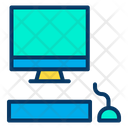 Monitor Keyboard Mouse Icon