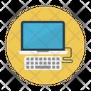Computer Keyboard Lcd Icon