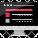 Computer Website Blog Icon