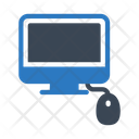 Computer Mouse Lcd Icon