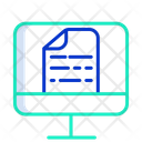 Computer Computer File Computer Document Icon