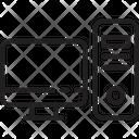 Computer Desktop Server Icon