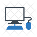 Computer Mouse Monitor Icon