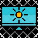 Computer Summer Beach Icon