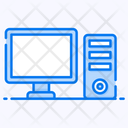 Computer Central Processing Unit Computer Hardware Icon