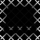 Computer Screen Dsplay Icon