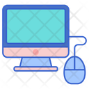 Computer Online Display Icon