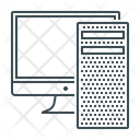Computer Hardware System Icon