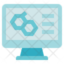 Chemistry Computer Cell Icon