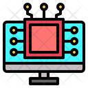 Processor Ai Monitor Icon