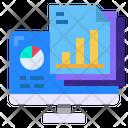 Computer Files Graph Icon