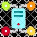Computer Data Technology Icon