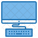 Computer Digital Learning Icon