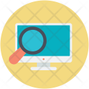Computer Screen Discovery Icon