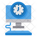 Computer Time Management Time Icon